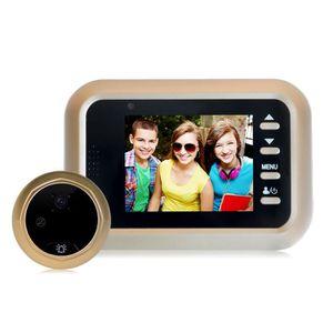 JUDAS - ŒIL DE PORTE W8 2.4inch couleur écran HD caméra de porte 160 °
