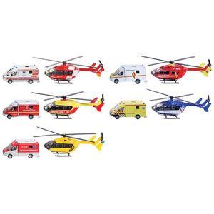 KIT MODÉLISME Tim Toys D - C + 1:87 Ambulance Hélicoptère - Jeux