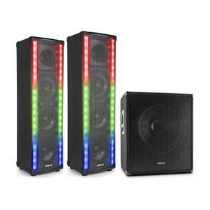 PACK SONO Vonyx LM65 Pack enceintes sono Bluetooth : 2 encei