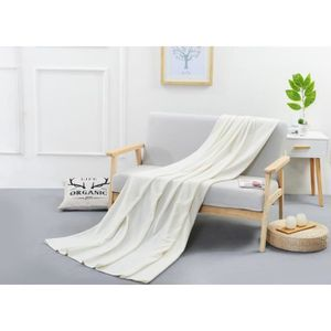 JETÉE DE LIT - BOUTIS PuTian Merino laine douce jet couverture, lavable