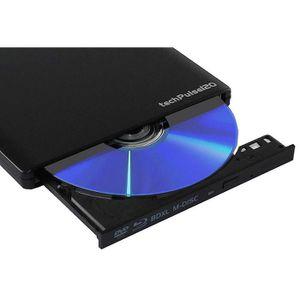 LECTEUR - GRAVEUR EXT. techPulse USB 3.0 3D BDXL externe Blu-ray M-Disc G