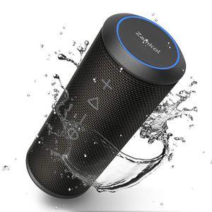 ENCEINTE NOMADE Zamkol Enceinte Bluetooth Portable, Waterproof Hau