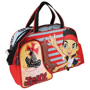 CARTABLE Jake and the Neverland Pirates, Cartable rouge