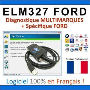 OUTIL DE DIAGNOSTIC Interface ELM327 MODIFIÉ - Valise Diagnostique MUL