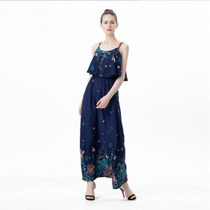 bf00ad2cd2b ROBE Womens Summer Long Beach Robes Boho Ladies Nouveau ...