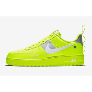 air force one jaune fluo homme