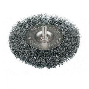 """4/"""" Wire Wheel Brash Perceuse Rotative Nettoyage Rouille Peinture échelle Dirt Power brosse À faire soi-même"""