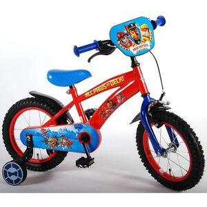 VÉLO ENFANT Vélo enfants Paw Patrol14 pouces roues de stabilis