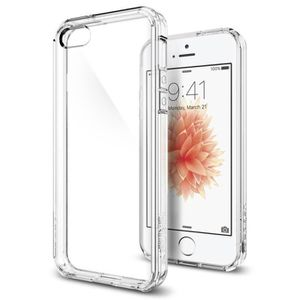 spigen ultra hybrid pour iphone 5 5s se transp