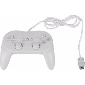 MANETTE JEUX VIDÉO Manette contrôleur Classic Pro pour Nintendo Wii,