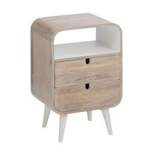 Table de chevet original achat vente table de chevet original pas cher - Table de chevet bois blanc ...