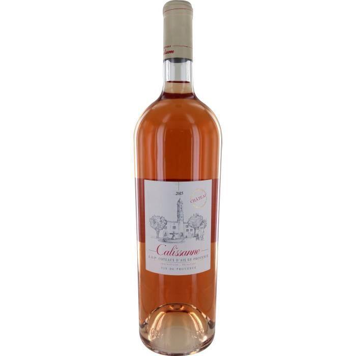 Magnum Calissanne 2015 Coteaux d'Aix en Provence - Vin rosé de Provence