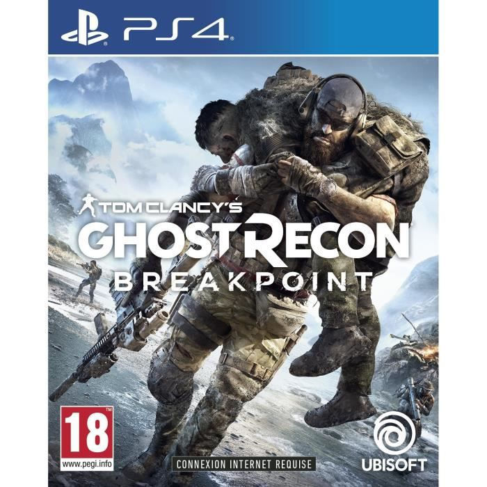Ghost Recon Breakpoint sur PS4