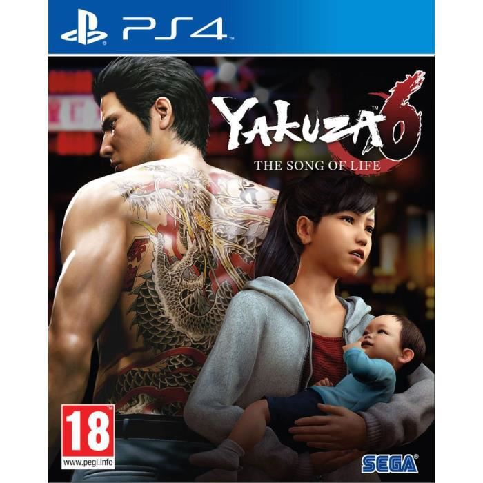 Yakuza 6: The Song of Life Launch Edition Jeu PS4