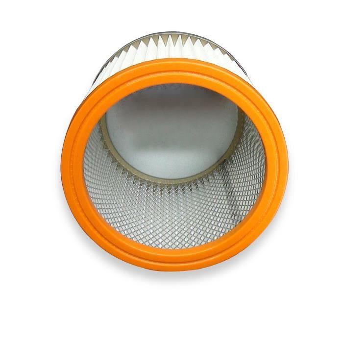 Filtre rond plissé durable K700 pour Rowenta RU 01 02 03 04 05