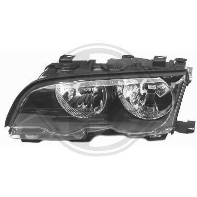1215183 Feu phare gauche ( cote conducteur ) pour BMW Serie 3 Coupé , Cabriolet de type E46 de 2001 a 2003 Look Origine