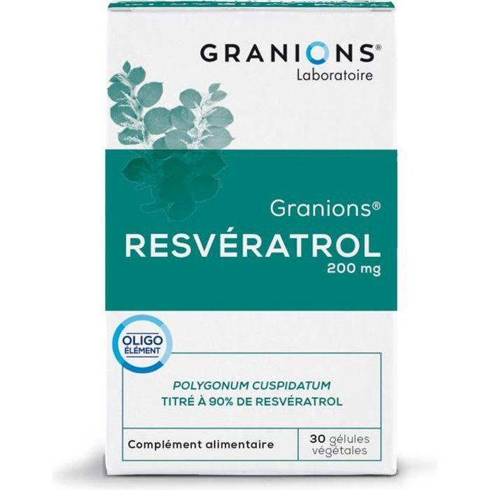 GRANIONS® RESVERATROL (BTE 30 GÉLULES)