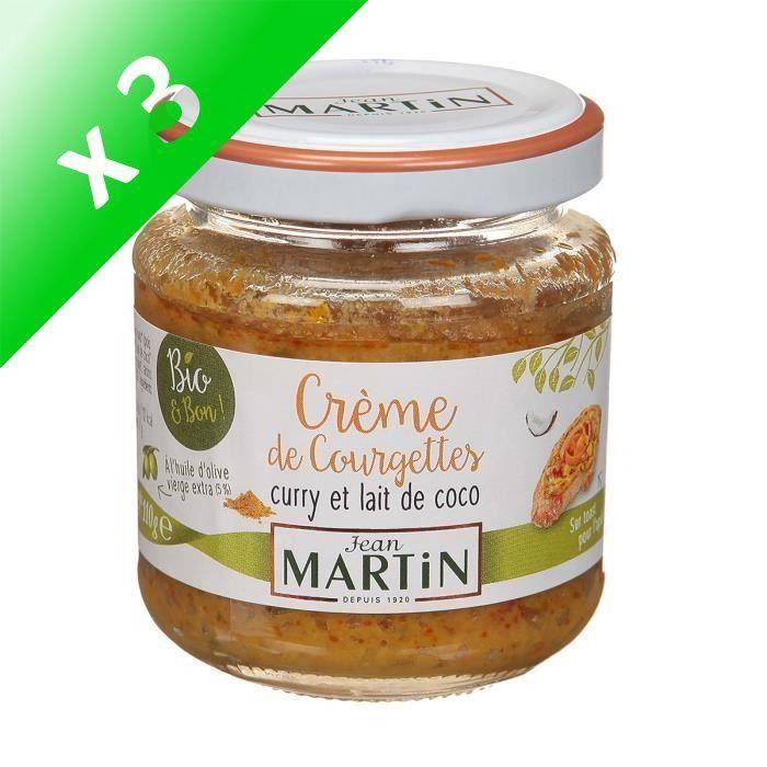 [LOT DE 3] Crème courgettes bio 110g