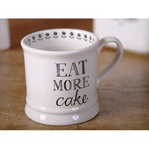 Creative Tops Creative Bake Stir it Up ``manger plus gâteau Chope Mug, blanc cassé - 5174338