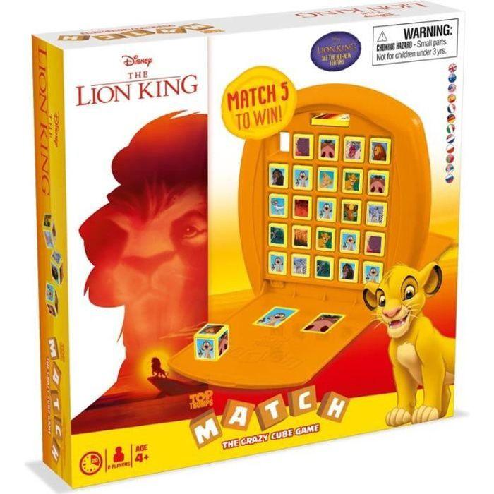 MATCH LE ROI LION - Jeu de société
