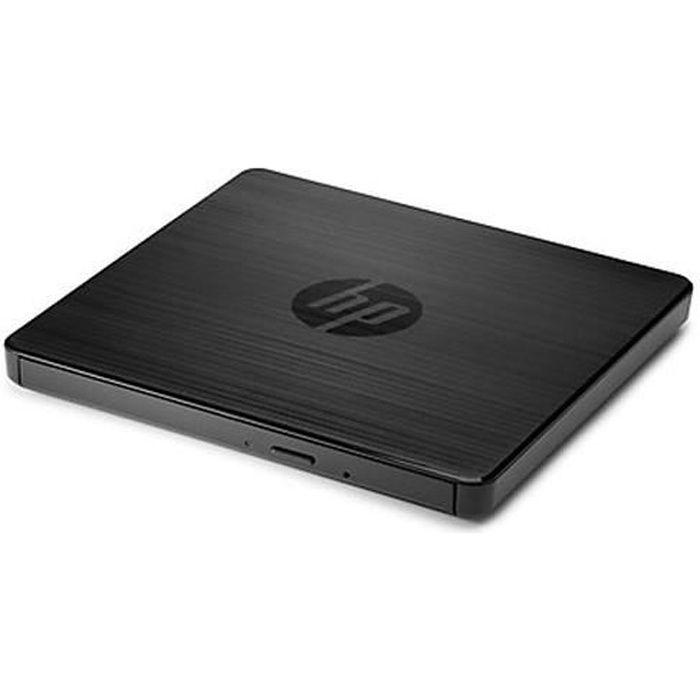 HP F6V97AA#ABB, Noir, Plateau, DVD-RW, USB 3.0, 0,368 Mo, 24x