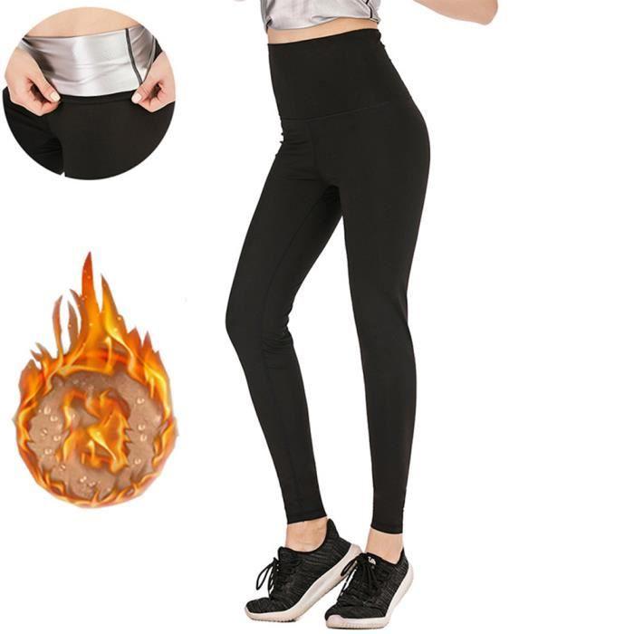 Fitness Femmes Sauna Perte De Poids Pantalon De Survêtement Mode Minceur Body Shaper Leggings