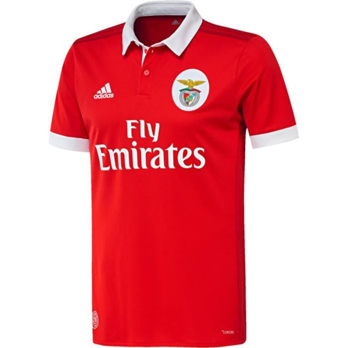 Maillot Benfica Domicile 2018 Football Rouge Taille Enfant Neuf