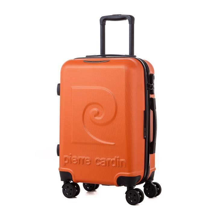 Valise cabine 50cm, 4 roues doubles. - matière Polycarbonate - couleur Jaune - gamme BAGAGE RIGIDE