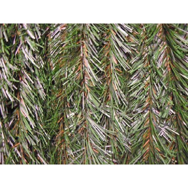 IDEAL GARDEN Haie artificielle - 2 x 3 m - Tricolore : Vert et Marron