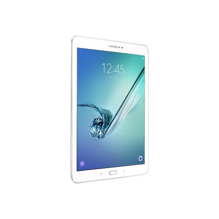 SAMSUNG Tablette tactile Galaxy Tab S2 - 8 pouces QXGA - RAM 3 Go - Android 6.0 (Marshmallow) - Stockage 32 Go - Blanc
