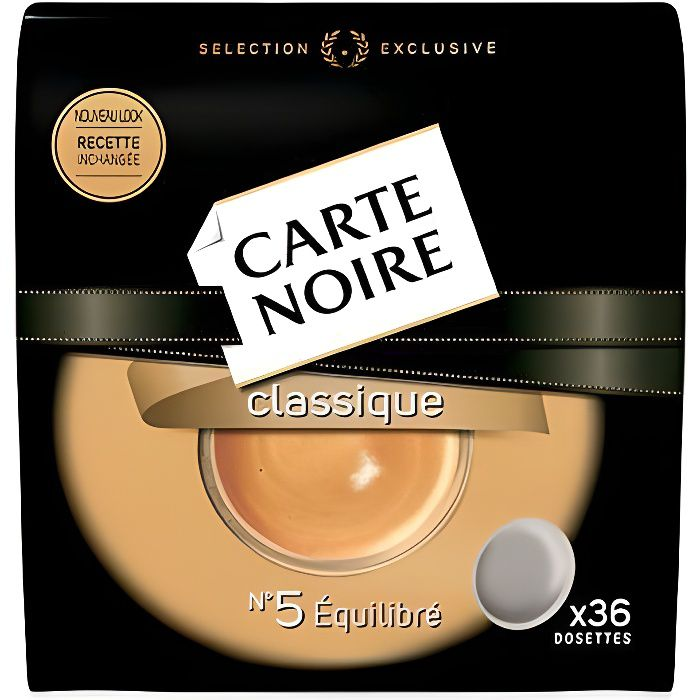 Dosettes café carte noir 250 g Carte Noire