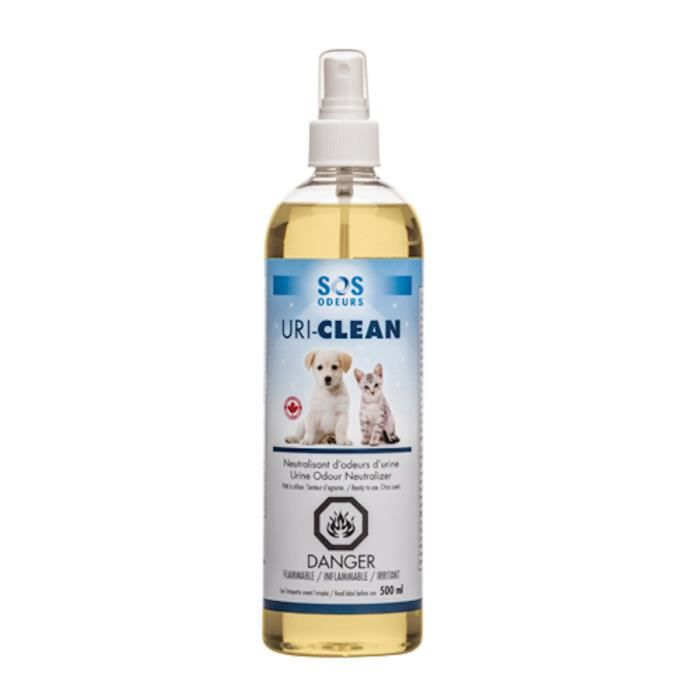 Uri-Clean Spray contre les odeurs d'urines animales 500 ml