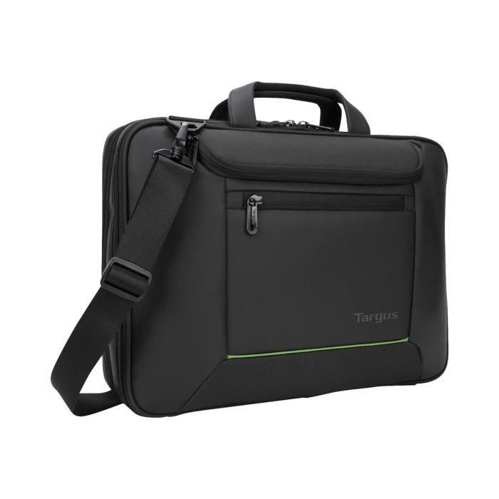 TARGUS EcoSmart Balance Briefcase Sacoche pour ordinateur portable 15.6- - Noir