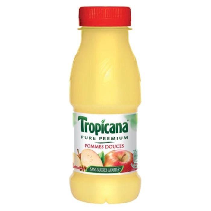 Tropicana Pommes Douces 25cl (pack de 12)