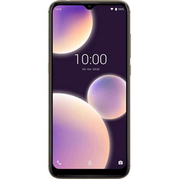 Smartphone double SIM 4G WIKO VIEW4 LITE WIKVIEW4LITEDGOST 32 Go 6.52 pouces (16.6 cm) double SIM Android™ 10 13 Mill. p