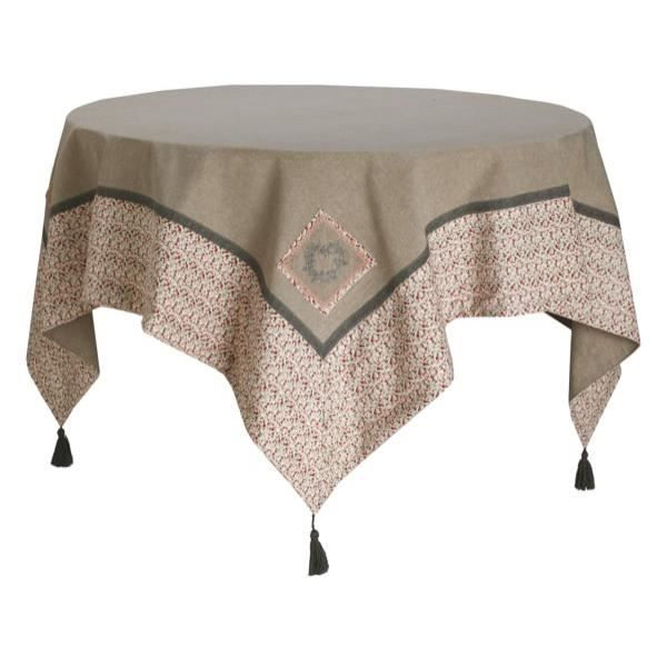 Carre 150x150 adele achat vente nappe de table - Nappe de table carre ...