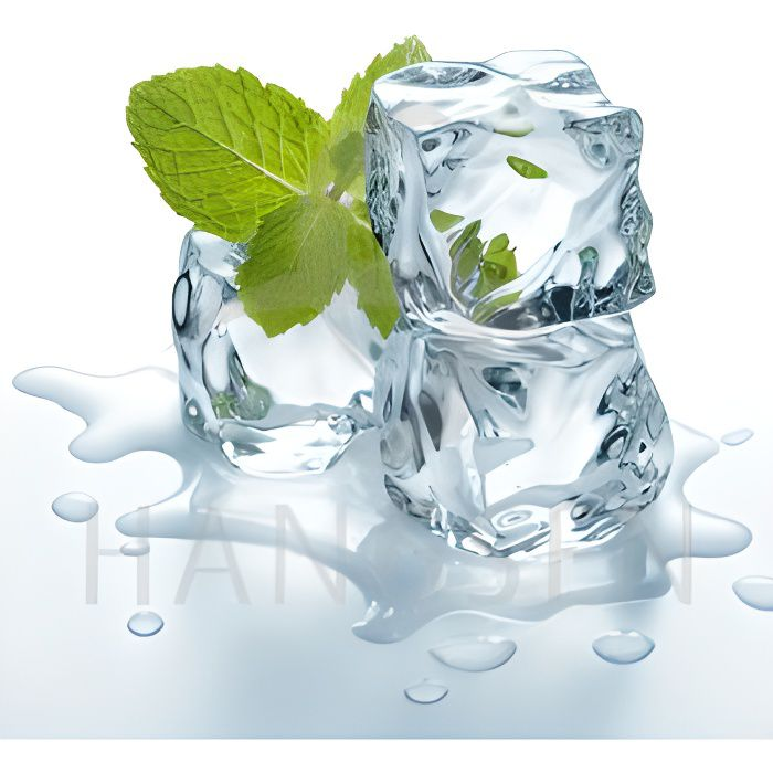 LIQUIDE E-liquide  goût menthe super glaciale  10ml 6mg
