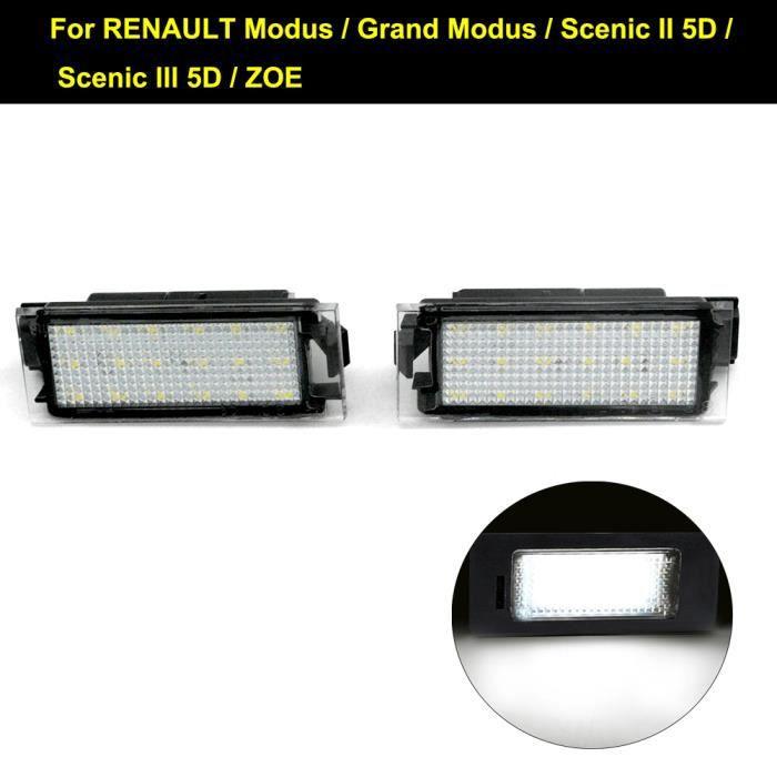 Top Lot de 2/modules LED SMD 18/LED /éclairage Plaque Min/éralogique Plaque dimmatriculation 217
