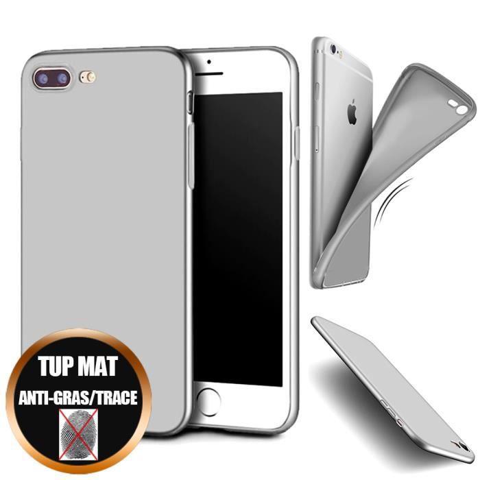 coque iphone 7 plus silicone ultra slim gel antich