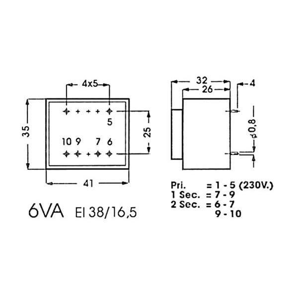 2 x 9.38A TRANSFO TRANSFORMATEUR TORIQUE 225VA 2 x 12V