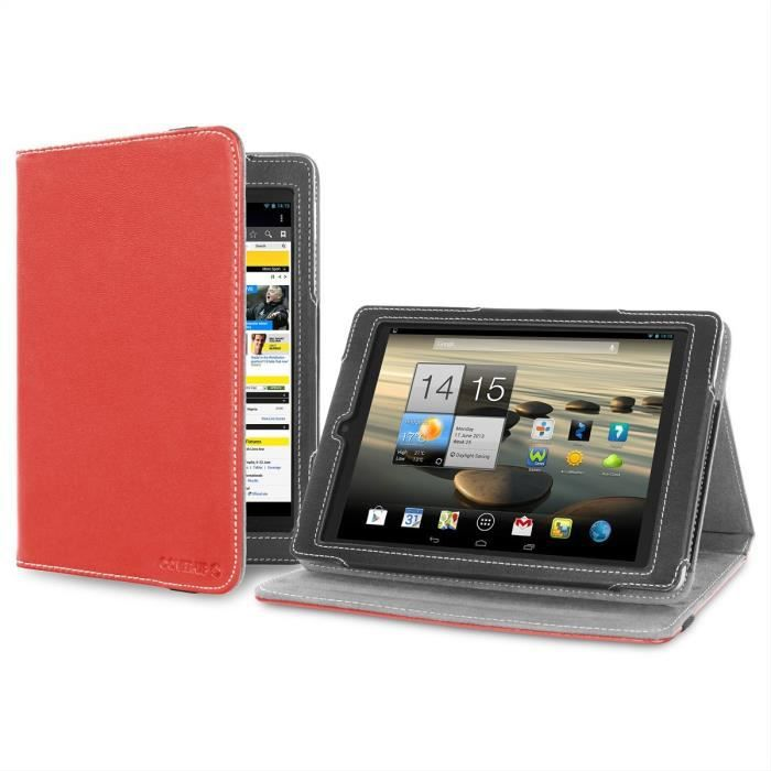 cover up housse avec avec support pour tablette acer iconia a1 810 de 7 9 quot couleur