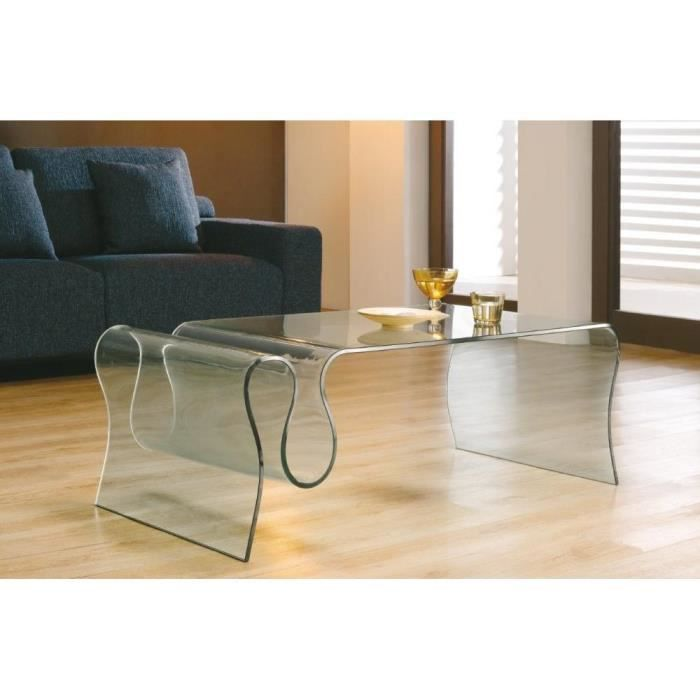 Table basse iris en verre achat vente table basse table basse iris en ve - Table basse en soldes ...