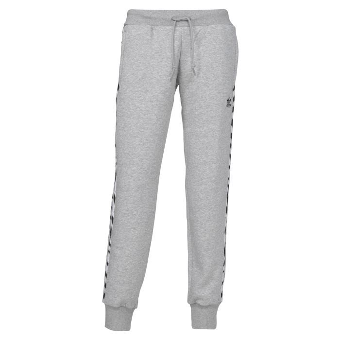 adidas pantalon femme gris
