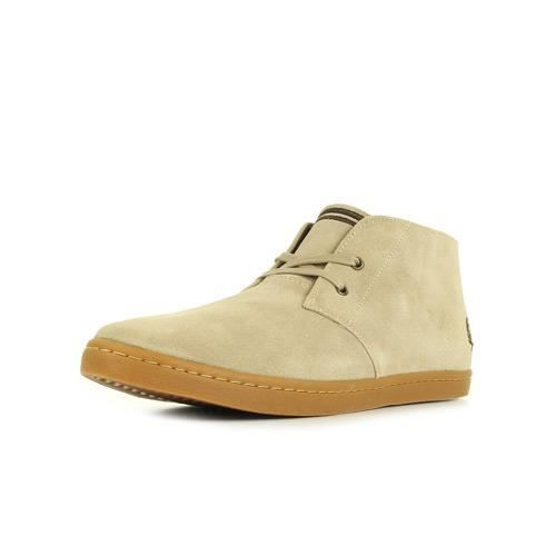Baskets Fred Perry Byron Mid Suede Sand tMPFON