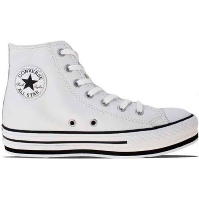 converse blanche fille