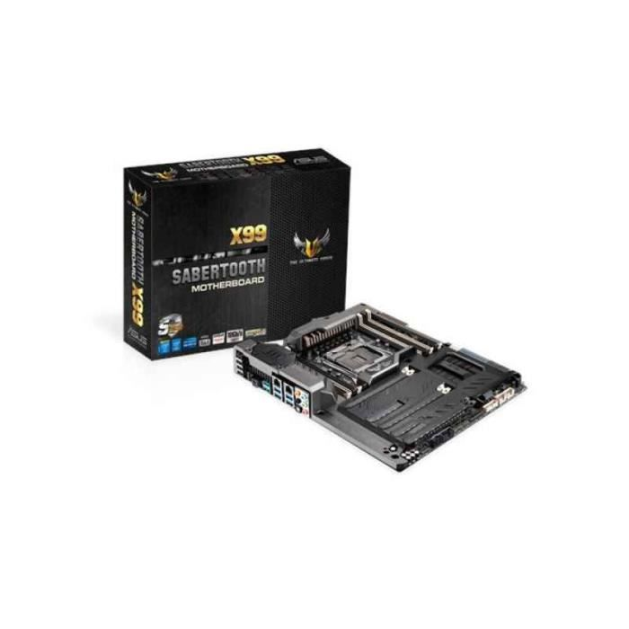 CARTE MÈRE ASUS SABERTOOTH X99 Intel X99 LGA 2011-v3 ATX cart
