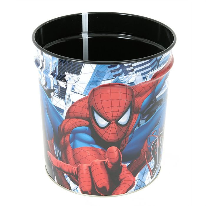 corbeille papier spiderman achat vente poubelle. Black Bedroom Furniture Sets. Home Design Ideas