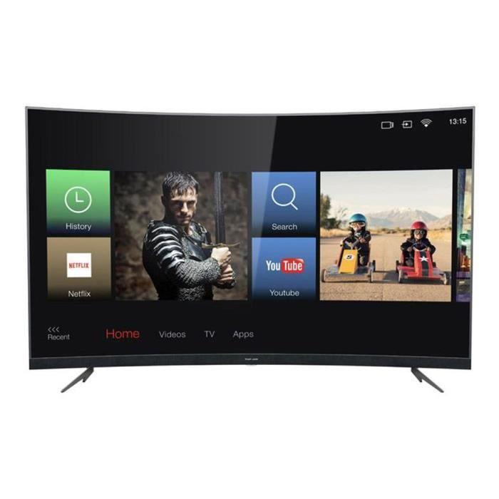 Téléviseur LED Thomson - TV Thomson 55' LED Incurvée Smart Wifi U