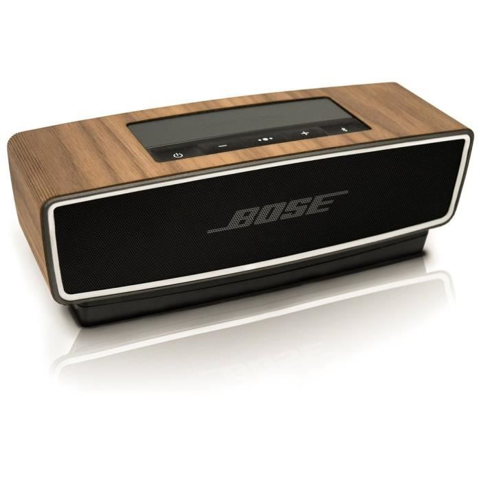 couverture pour la bose soundlink mini ii en bois de noyer. Black Bedroom Furniture Sets. Home Design Ideas