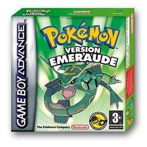 JEU GBA POKEMON VERSION EMERAUDE